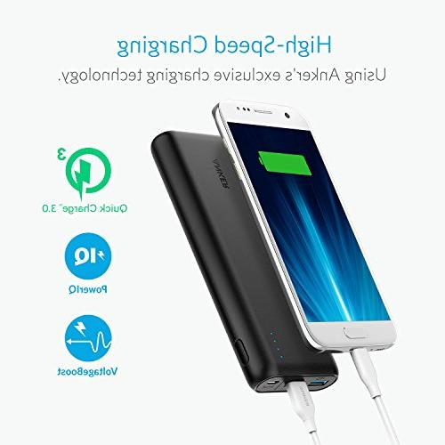 Anker 20000mAh 3.0 & Charger, Charge Recharging, Power Bank Samsung, iPad and More