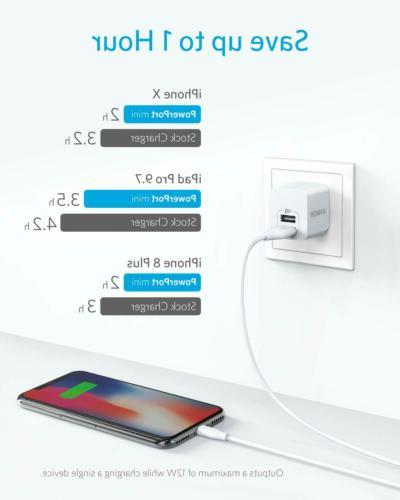 ANKER Wall Charger 2 Port Power 12W Charging