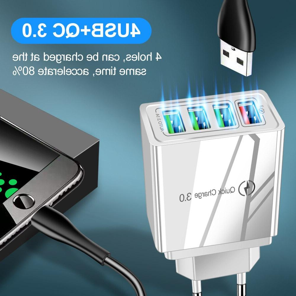 QC3.0 4.0 Fast <font><b>Charger</b></font> Xiaomi Wall Adapter For 7 8 Tablet