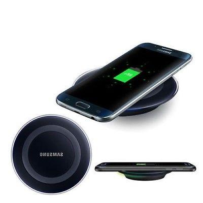 Qi Wireless Pad Charger for Samsung Galaxy S8+ S8 S7 S6 Edge