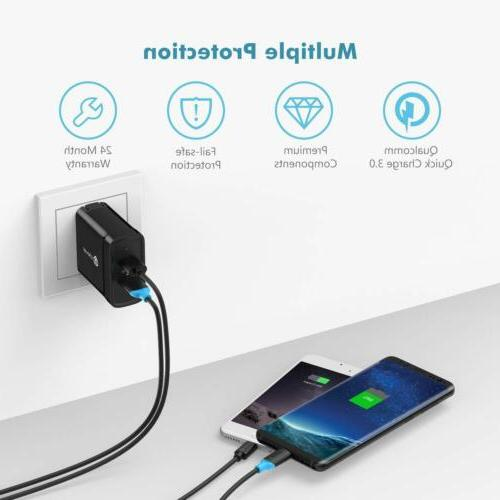 USB Wall Charger with 4 Cable Samsung