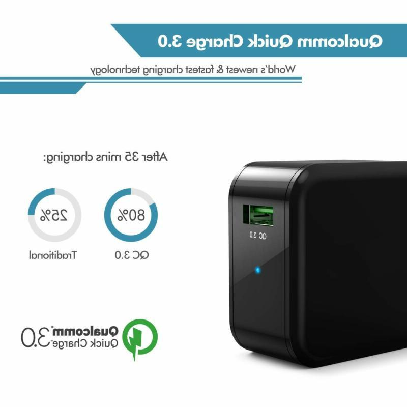 Quick Charge BoostCube QC USB Wall Charger Charge 2.