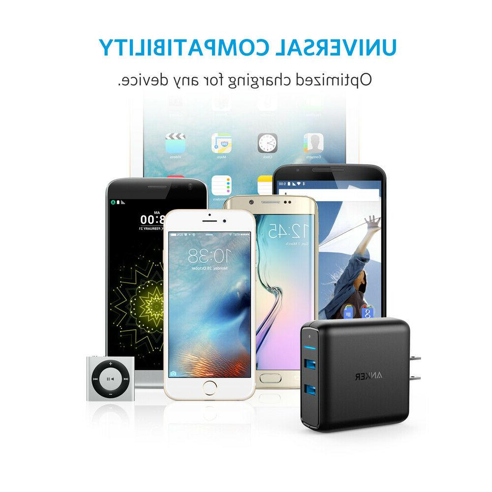 Anker Charge 3.0 Dual USB PowerPort Speed 2 Galaxy