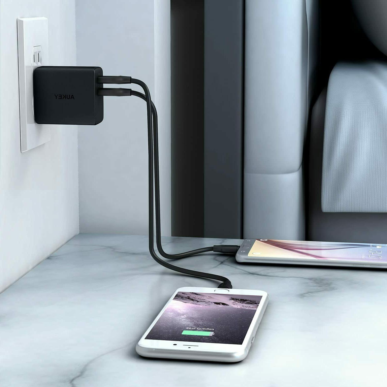 AUKEY Port Wall Outputs