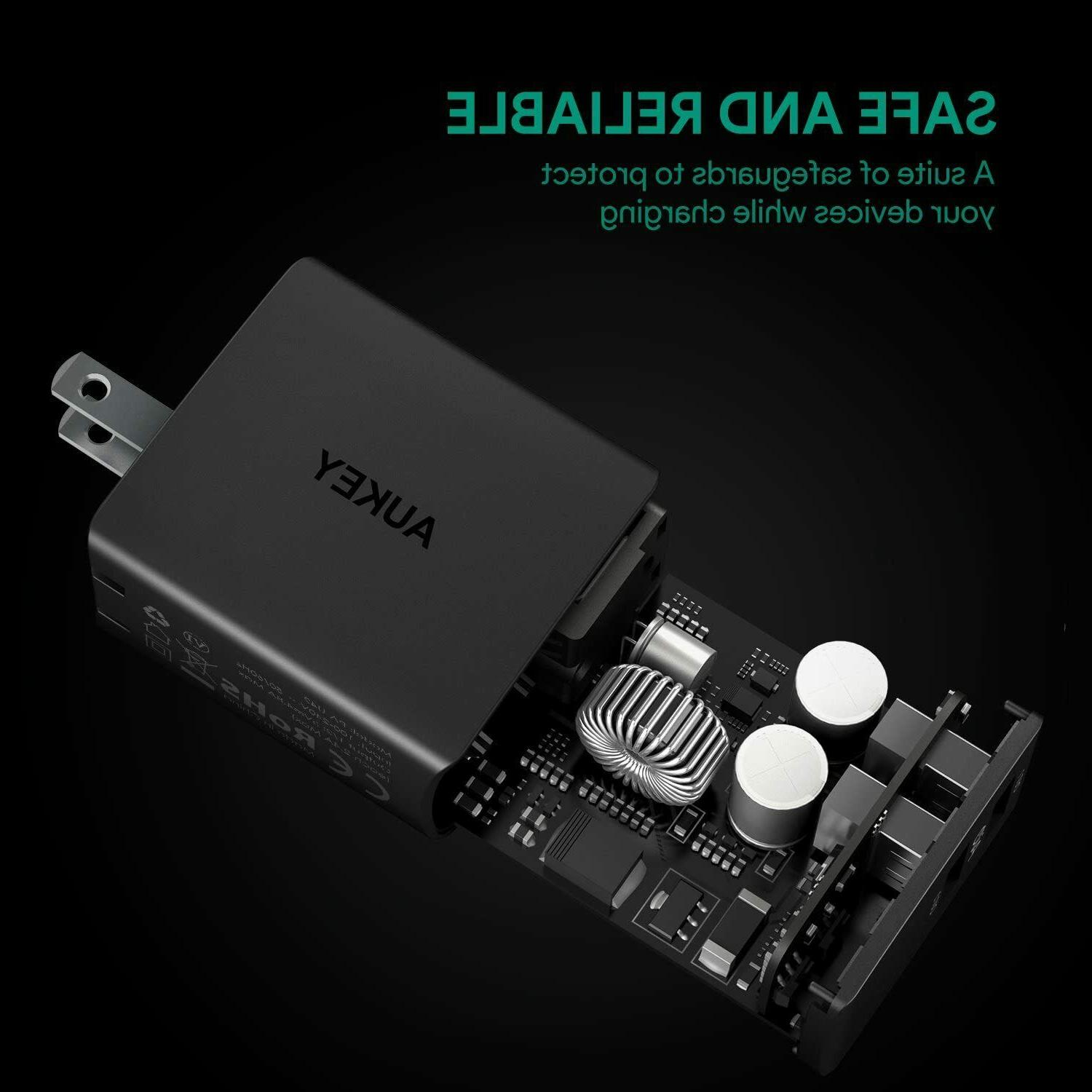 AUKEY Ultra Compact Dual Port Outputs