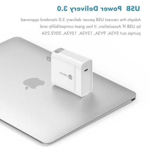 iClever 45W USB Type C 2.0 Wall for X