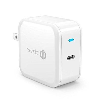 USB C Wall Charger, iClever BoostCube Power Delivery 30W USB