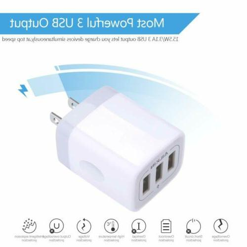 2/3x Wall Charger Phone Fast Charging Charger
