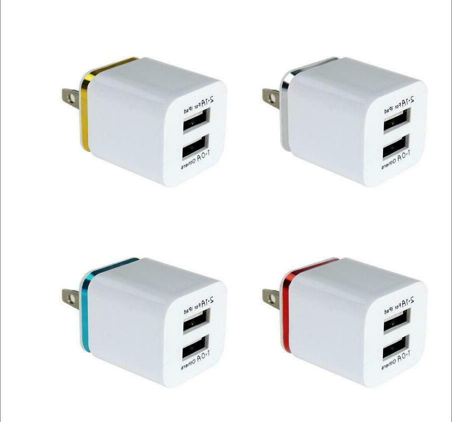 USB Double Charger 1A 5V Android Galaxy /