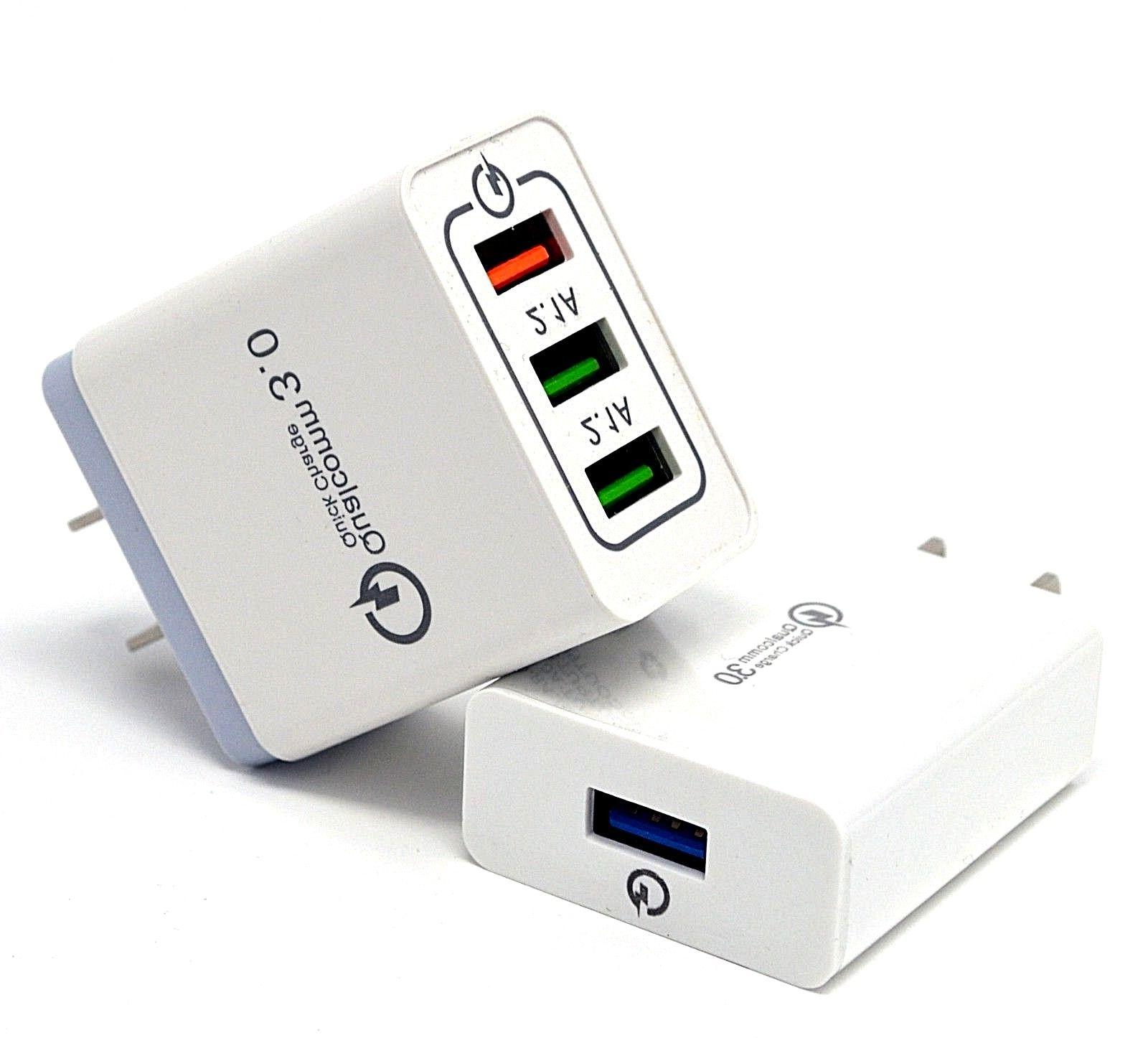 usb fast quick wall charger adapter 18w