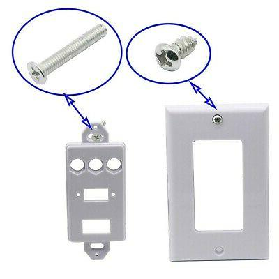 USB Wall Plate HDMI Wall Outlet Socket Panel