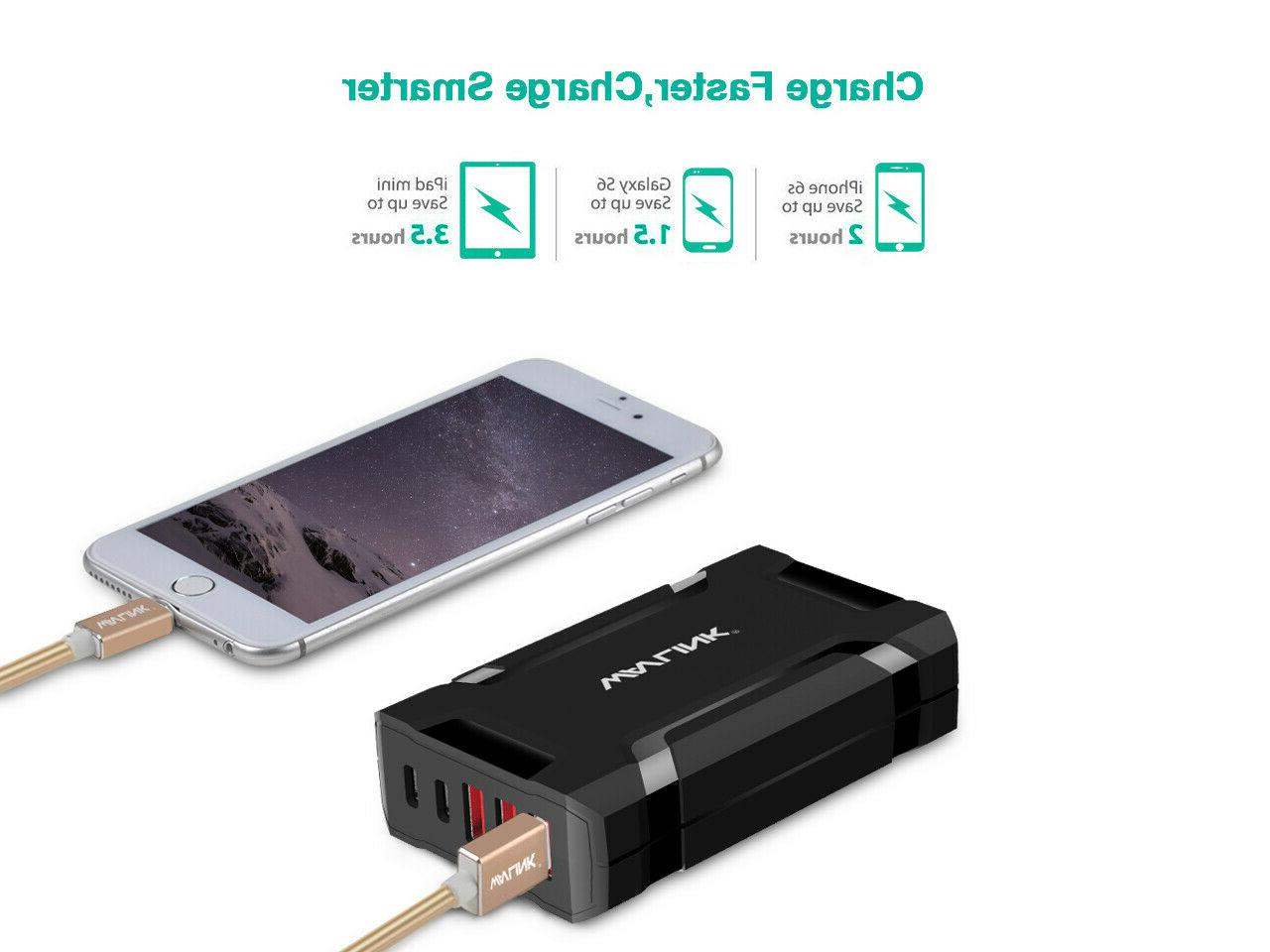 Wavlink 45W/9A USB Charger / Charging Station