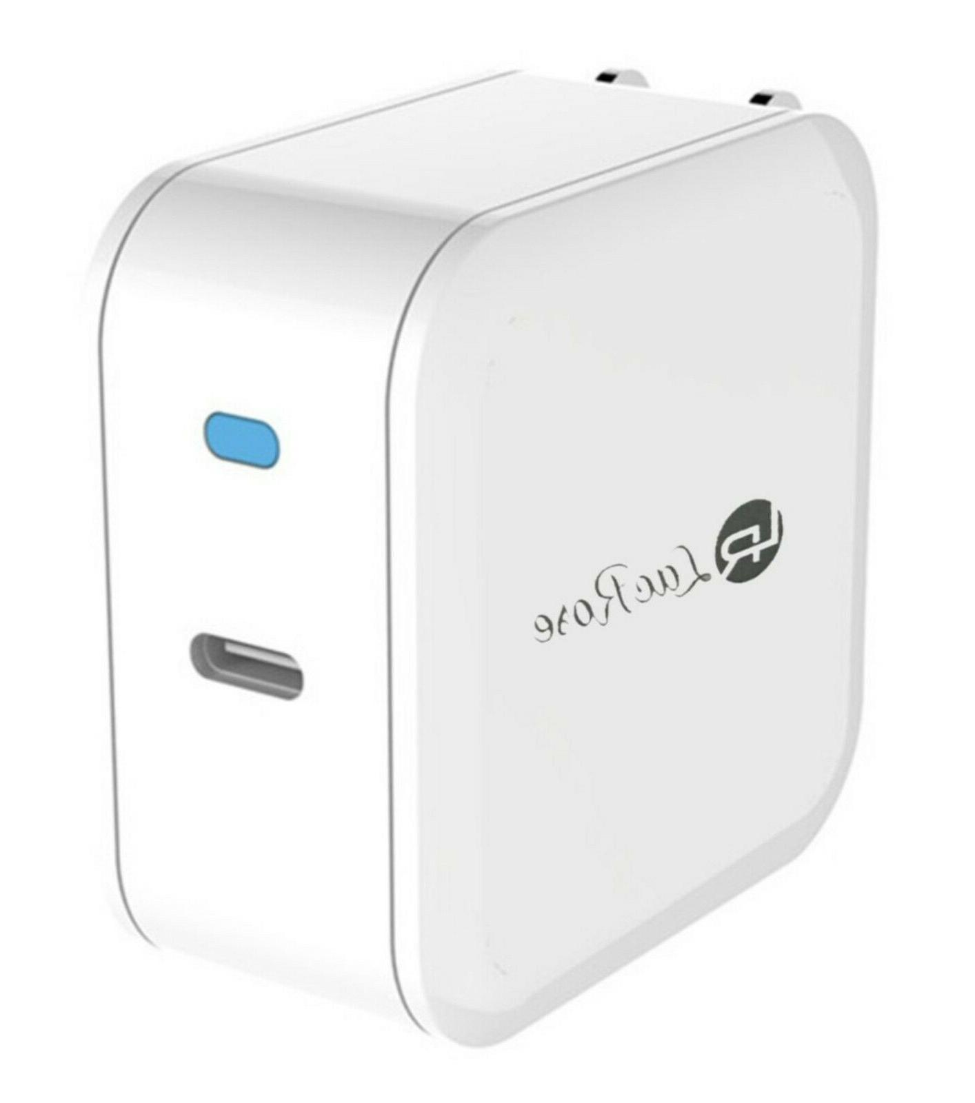 usb type c wall charger foldable 30w