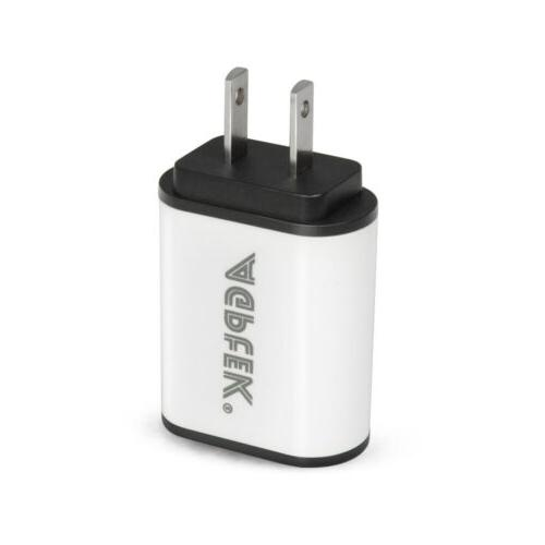 2PCS USB Wall Charger Wide Input 100v-240v Technology