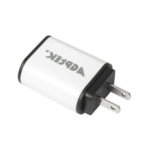 2PCS Wall Charger Adpater Input Detect Technology iPhone
