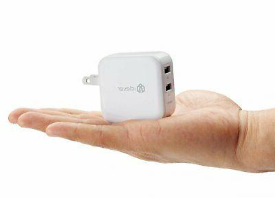 iClever BoostCube Dual Charger with