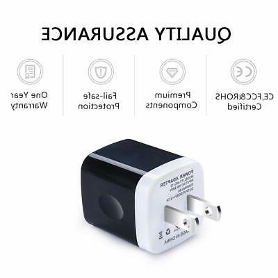 USB Wall Charger Adapter, Ailkin 3-Pack 2.1Amp Dual Port Quick