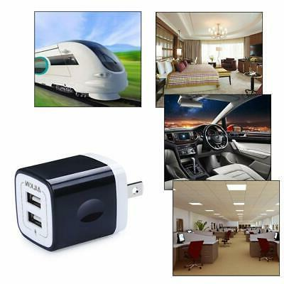 USB Wall Adapter, Dual Charger
