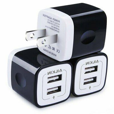 usb wall charger charger adapter ailkin 3