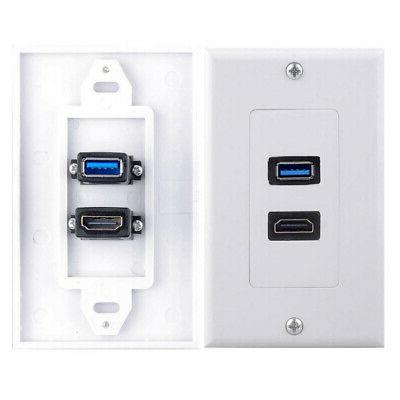 HDMI Component Wall Socket