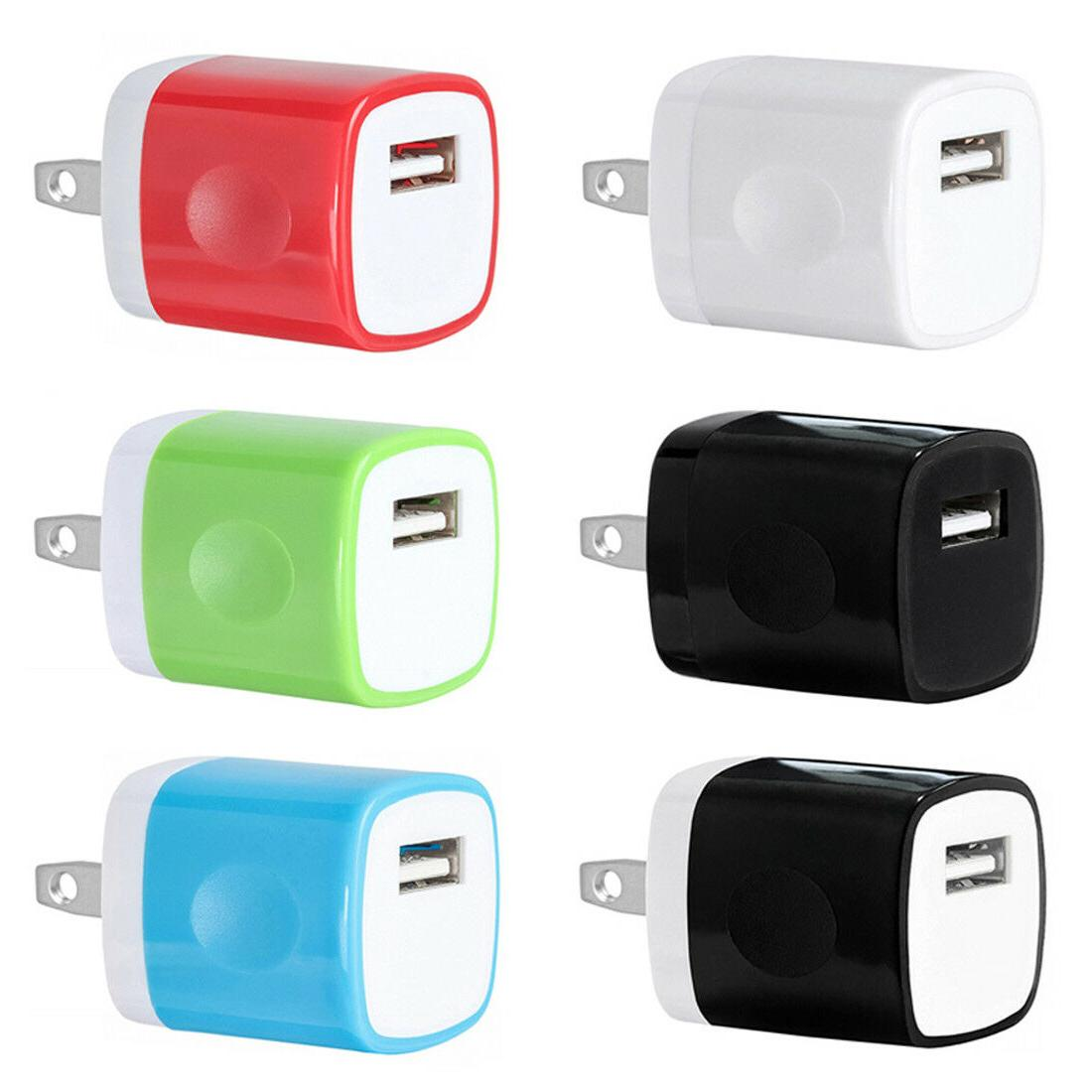 USB Wall Adapter AC Plug iPhone 8 X
