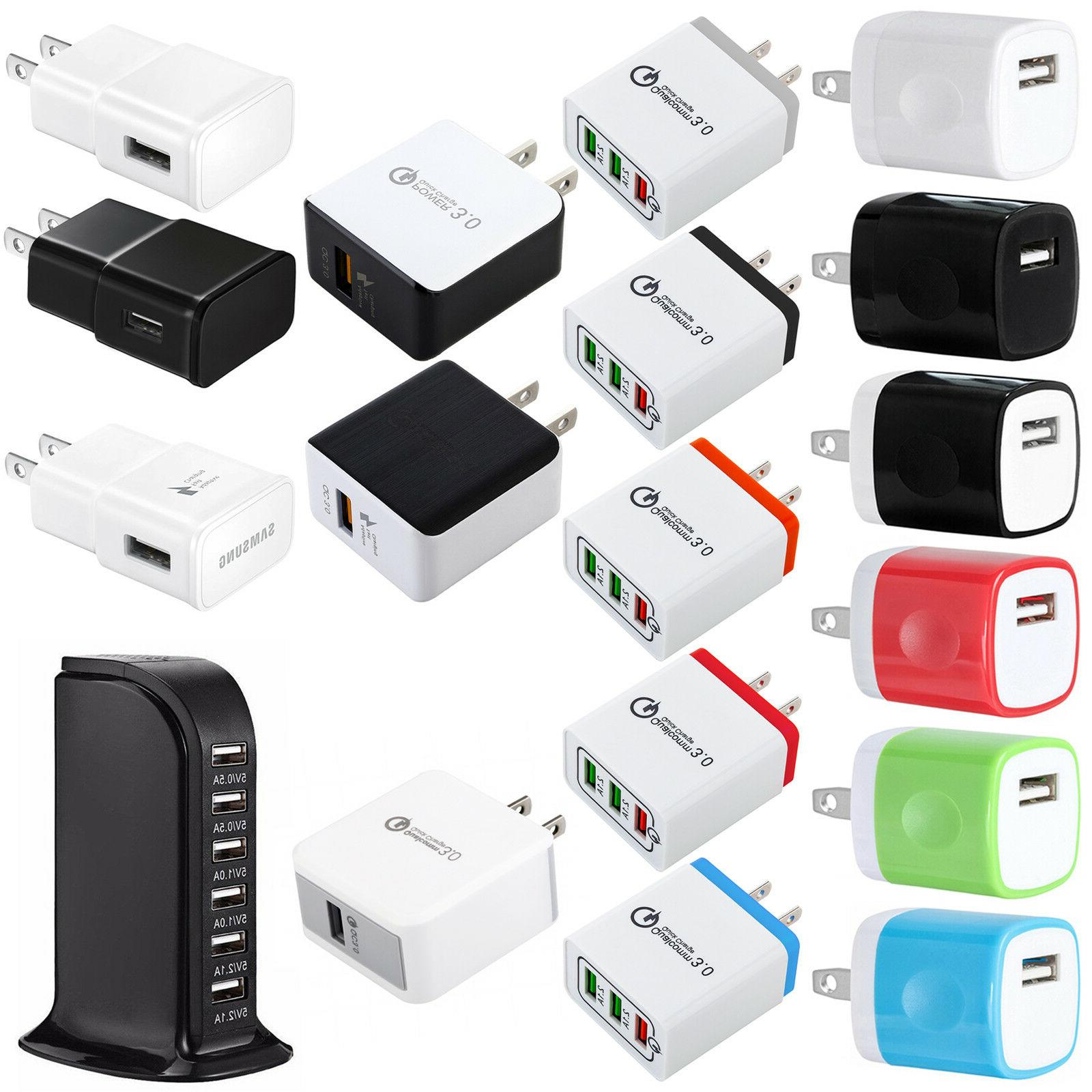 USB Wall Adapter AC US Plug for 8 X Samsung