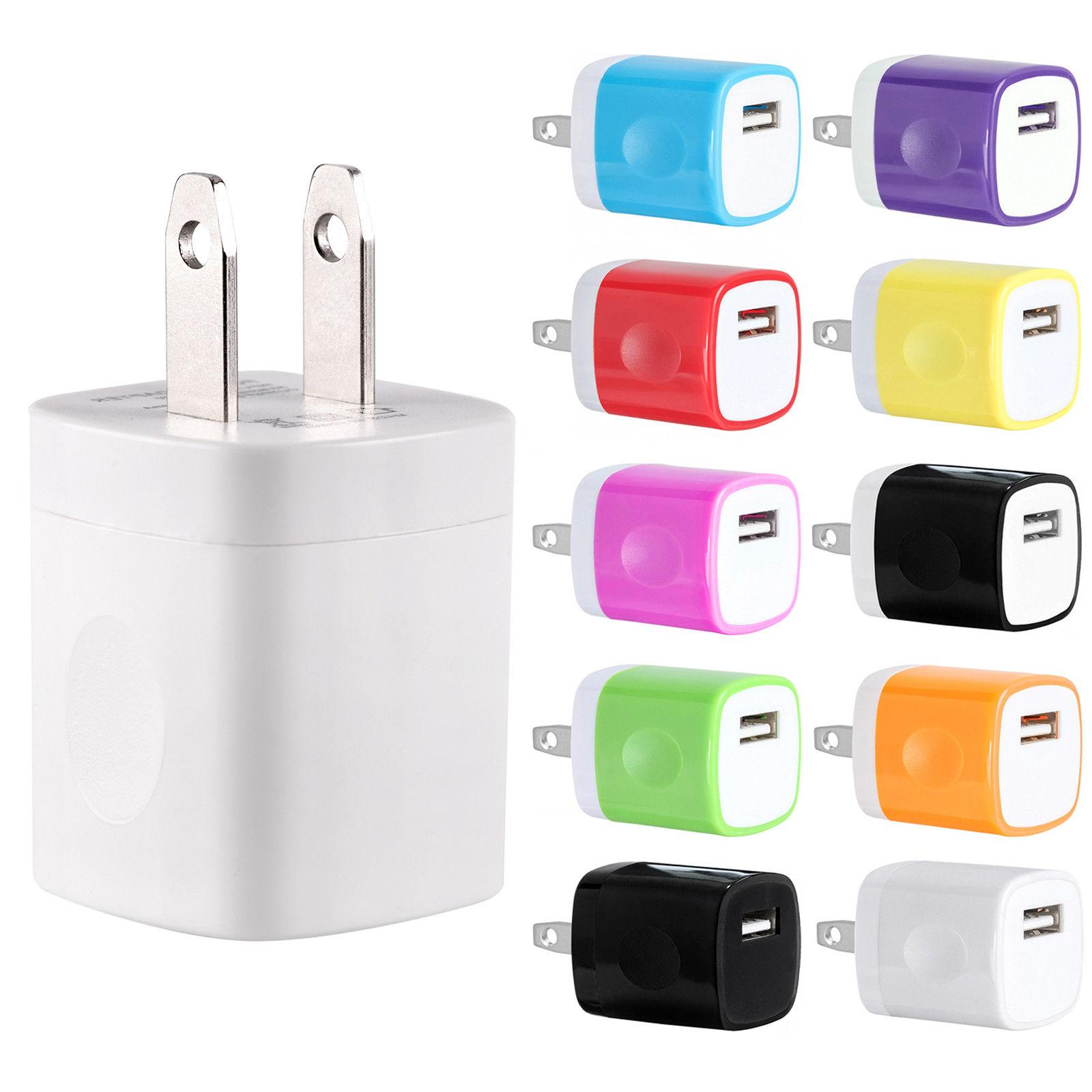 USB Wall Charger Power Adapter Plug AC Universal For iPhone