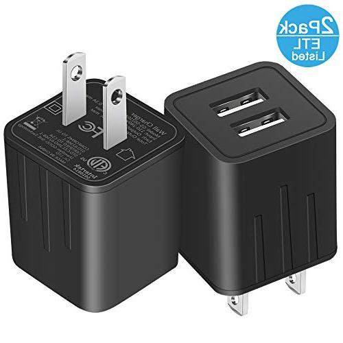 usb wall charger universal fast dual port