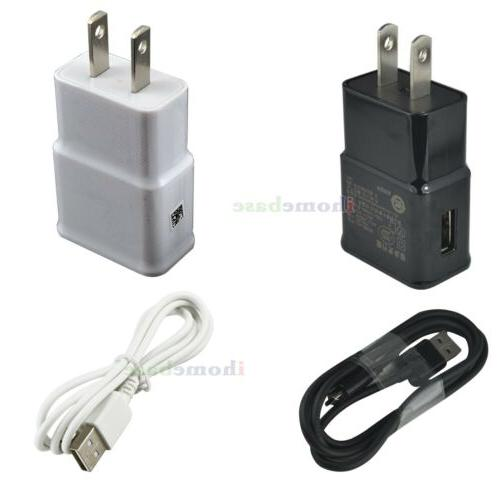 wall ac adapter usb charging cable
