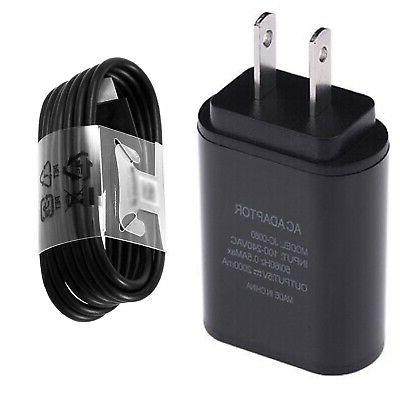 2 AMP WALL ADAPTER+3.1 TYPE C USB CABLE FOR T-MOBILE ZTE ZMA