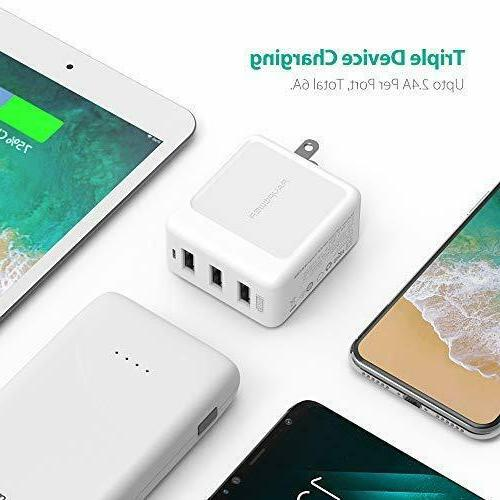 Wall RAVPower Port USB Charger
