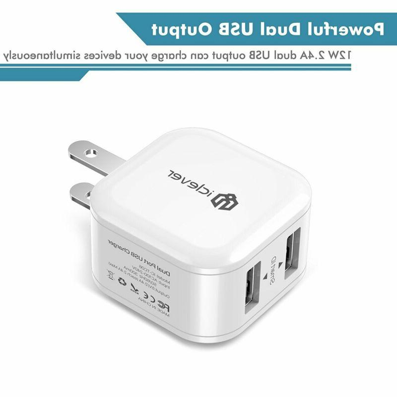 Wall Charger iClever Boost Cube USB iPhone
