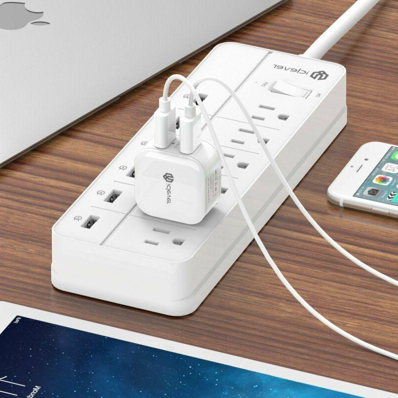 Wall Charger iClever Cube iPhone & Galaxy