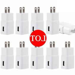 Lot Adaptive Fast Rapid Charging Wall Charger US Plug For Sa