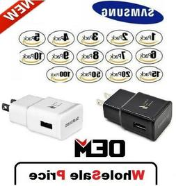 Lot Adaptive Fast Rapid Wall Charger For Samsung S7 S6 NOTE