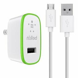 Belkin MIXIT Home and Travel Wall Charger with 4-Foot Micro