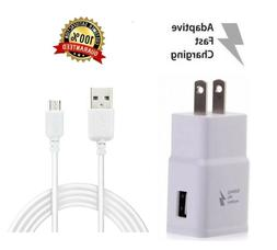 New Adaptive Fast Rapid Charger+Cable for Samsung Galaxy S6