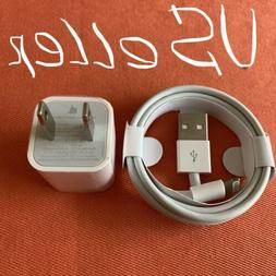 New Original Apple Wall Charger+USB Date Charging Cable iPho