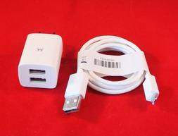 OEM Original Motorola Dual USB Cube Home Wall Charger + USB