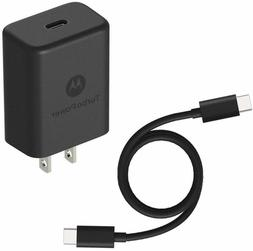 OEM Moto TurboPower 15 Plus - QC 3.0 Wall Charger with USB-C