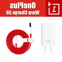 Official OnePlus Warp Charge 30 Wall Charger 6A Max Cable Fo