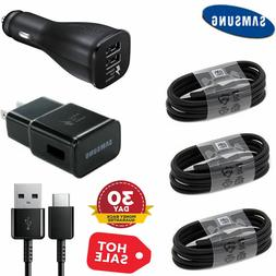 Original Fast Wall Car Charger Type-C Cable For Samsung Gala