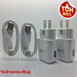 Original Fast Wall Charger&USB Type C Cable For LG Q8 Q7 G7