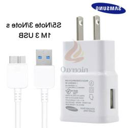 Original oem Samsung USB Wall Charger Data Sync Cable OEM fo