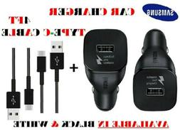 Original Type C Samsung Galaxy Fast Car Charger + 4FT Cable