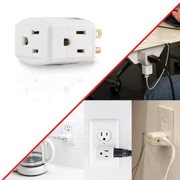 Outlet Wall Charger Tap Surge Protector Extra Wide Space Sav