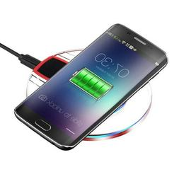 Qi Wireless Charger Charging Pad for  Samsung Galaxy S8 Plus