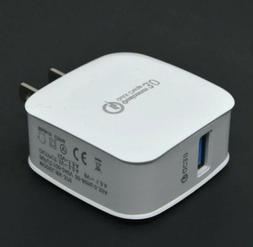 Qualcomm QC 3.0 Fast Quick Charge Charger Wall Home USB Adap