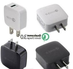 qualcomm qc3 0 certified fast wall charger