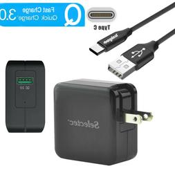 Quick Charge 3.0 Rapid Fast 18W Wall Charger Adapter Type-C